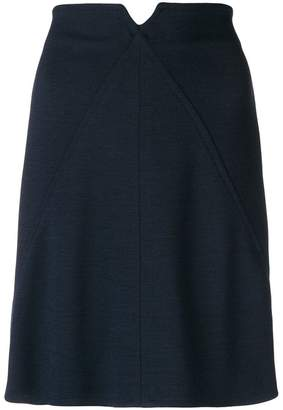 Courreges high-waisted short skirt