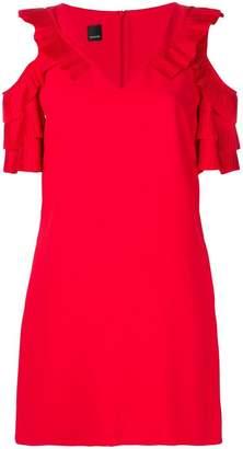 Pinko cold shoulder dress