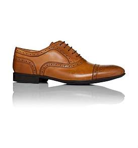 Milana 5 Lace Oxford With Brogue Detailing And Rubber Sole
