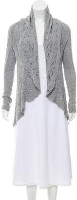 Cotton by Cashmere Long Sleeve Cable Knit Cardigan