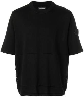 Stone Island Shadow Project short sleeved zip jumper