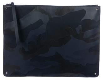 fc1da2546aa Valentino Camouflage Nylon Portfolio