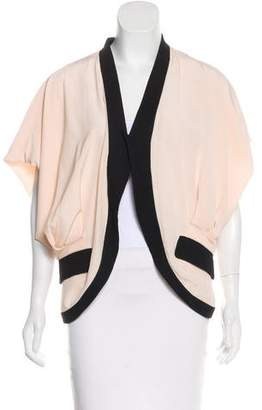 Viktor & Rolf Short Sleeve Silk-Accented Jacket