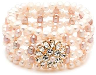 Carolee Cultured Freshwater Pearl Stretch Bracelet