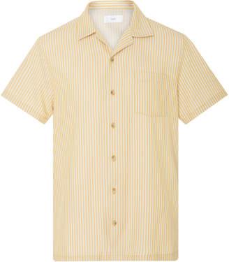 Onia Bermuda Striped Cotton-Blend Shirt
