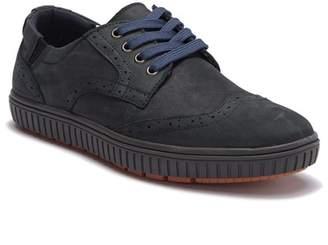 Muk Luks Parker Perforated Wingtip Suede Sneaker