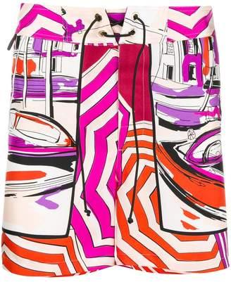 Emilio Pucci Saint Tropez print shorts