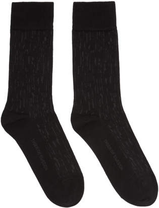Tiger of Sweden Black Fanika Socks