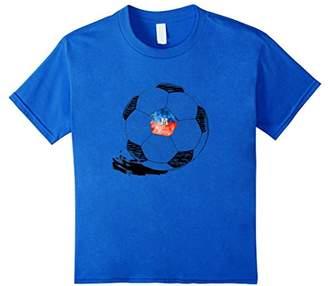 Vintage Soccer Haiti Flag T-shirt Haitians Pride