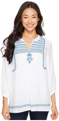 Hatley Embroidered Blouse Women's Blouse