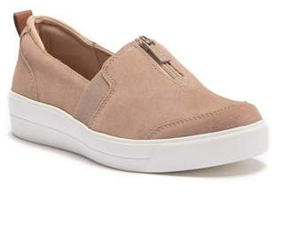 Ryka Vivi Suede Wedge Slip-On Sneaker