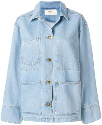 Ports 1961 oversized denim jacket