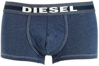 Denim Effect Stretch Cotton Boxer Briefs $29 thestylecure.com