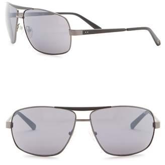 GUESS 64mm Navigator Sunglasses