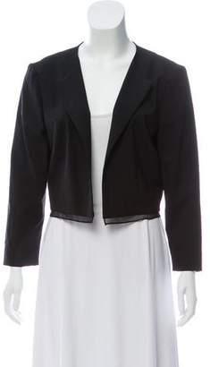 Prabal Gurung Silk-Accented Wool Jacket