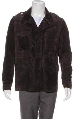 Burberry Suede Field Jacket w/ Tags