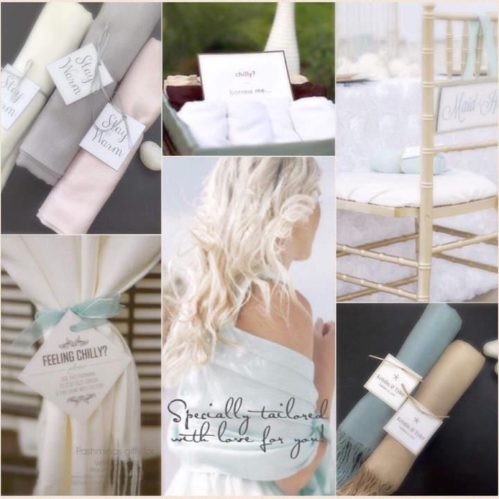Etsy Pashminas 8 pcs Handmade- Any color- Pashminas Bridesmaids -pashmina shawl - pashmina as a favor -