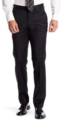 Nordstrom Tech-Smart Trim Fit Flat Front Trousers