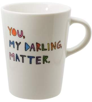 FISHS EDDY My Darling Ceramic Mug