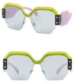 Miu Miu Sorbet Square Sunglasses