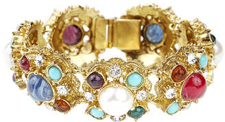 Ben-Amun Ben Amun Byzantine Pearl Embellished Bracelet