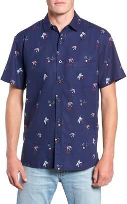 Kahala Setting Sun Classic Fit Sport Shirt