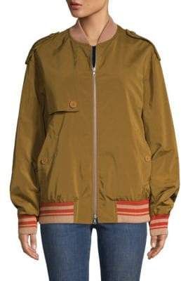Dries Van Noten Classic Bomber Jacket
