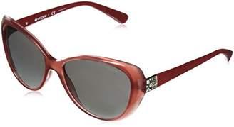 Vogue Women's Plastic Woman Oval Sunglasses