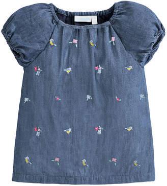 Jo-Jo JoJo Maman Bebe Jojo Maman Bebe Embroidered T-Shirt