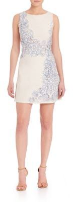 Alice and Olivia Malin Embroidered Dress $485 thestylecure.com