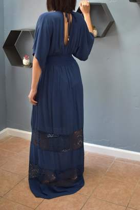 Love Stitch Lovestitch Midnight Maxi Dress