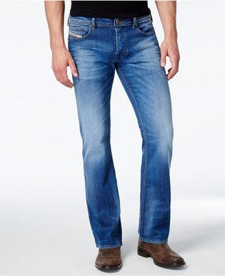 Diesel Men's Zathan 0831D Bootcut Jeans $198 thestylecure.com