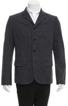 Kolor Plaid Blazer Style Jacket