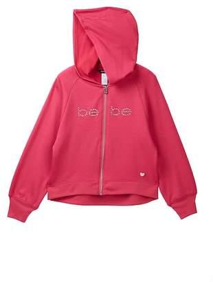 Bebe Brushed Fleece Active Jacket (Big Girls)