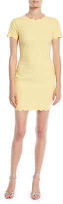 LIKELY Manhattan Scalloped Sheath Dress