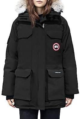 Canada Goose Women's Fur Trim Expedition Parka