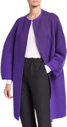 Issey Miyake Circle Knit Wool Cardigan