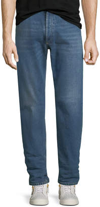 Balenciaga Straight-Leg Denim Jeans