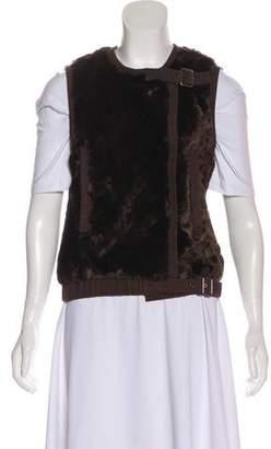 Rebecca Taylor Faux Fur Vest