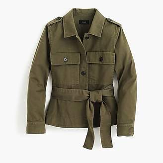 J.Crew Cropped fatigue jacket
