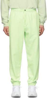 Nike Green Fleece Lounge Pants