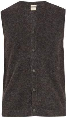 Massimo Alba Alpaca-blend sleeveless cardigan