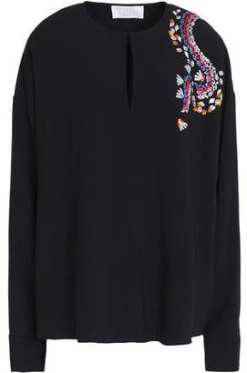 Peter Pilotto Embroidered Cady Top