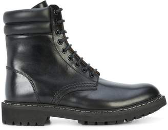 Givenchy lace-up boots