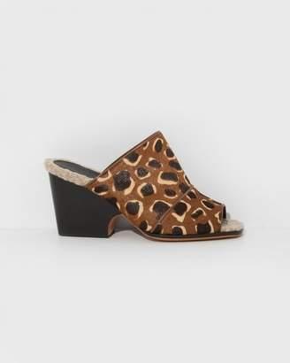 Rachel Comey Giraffe Calf Hair Dahl Sandals