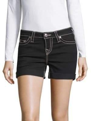 True Religion Rolled Cuff Shorts