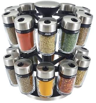 Cole & Mason 20 Jar Filled Spice Rack Carousel