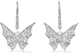 Stephen Webster Fly By Night 18-karat White Gold Diamond Earrings