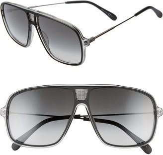 Givenchy 61mm Gradient Navigator Sunglasses