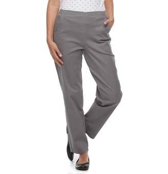 Croft & Barrow Petite High Waisted Pull-On Jeans